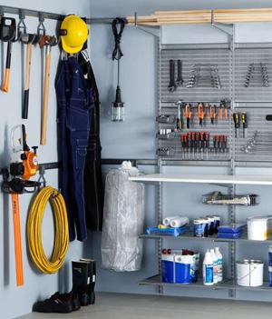 elfa® Utility (Гараж, хранение инструментов и т.д.)