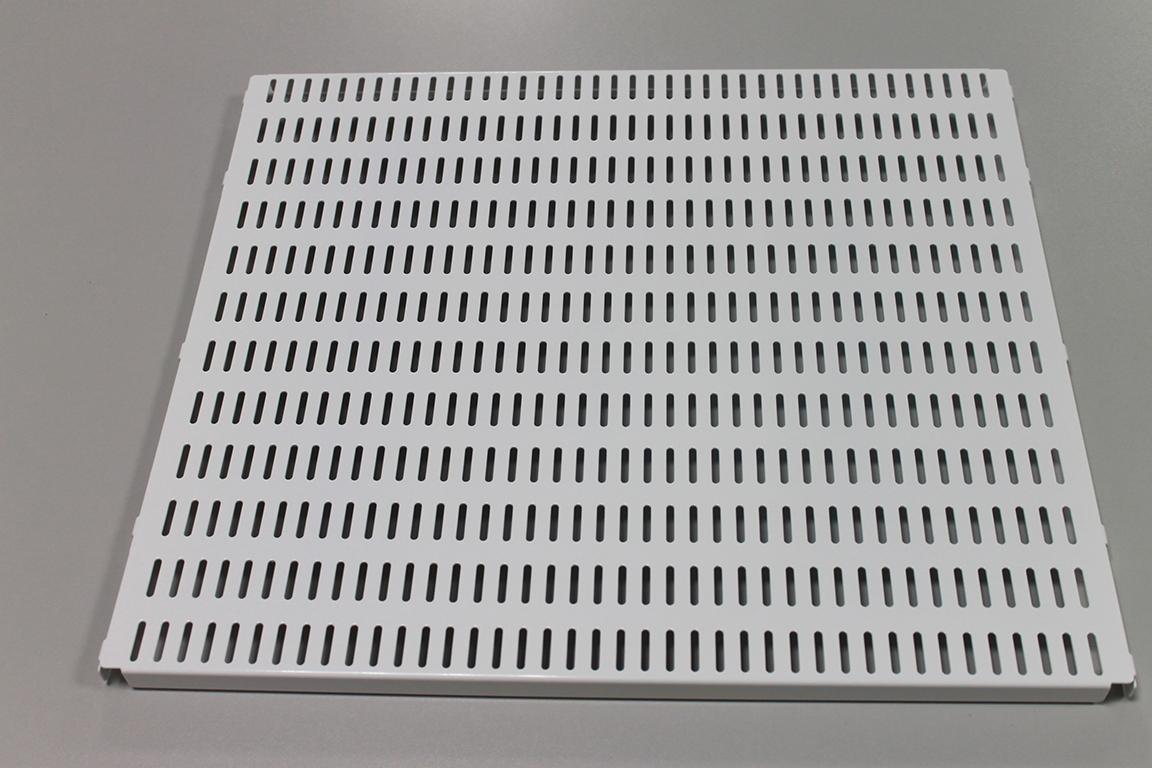 Перфорированная панель 45 x 38 см, белый