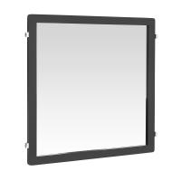 Зеркало Decor 59,8 х 63,5 мм, серый